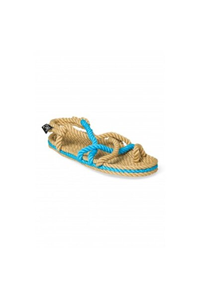 - Toe Joe Camel-neon Mavi Hasır Ip Sandalet
