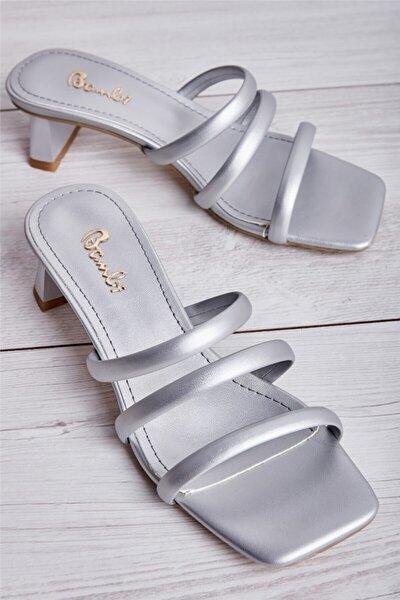 Gümüş Kadın Sandalet L0533001509
