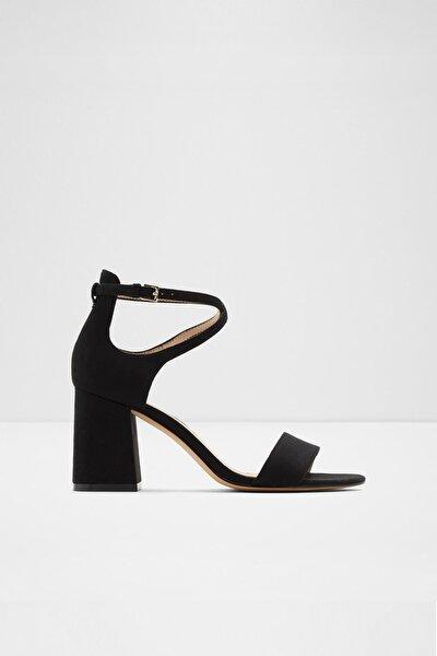 Aboedıa - Siyah Kadın Topuklu Sandalet