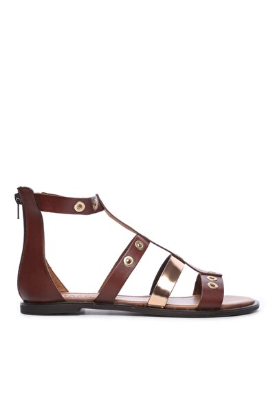 Kadın Derı Sandalet Sandalet 169 7280 Bn Sndlt