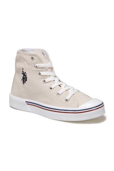 PENELOPE HIGH 1FX Bej Kadın Havuz Taban Sneaker 100910638