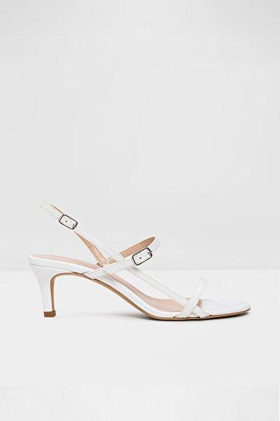 Rowy-tr - Beyaz Kadın Topuklu Sandalet