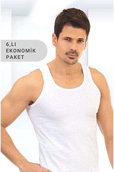 Erkek Atlet 6'lı Ekonomik Paket %100 Pamuk