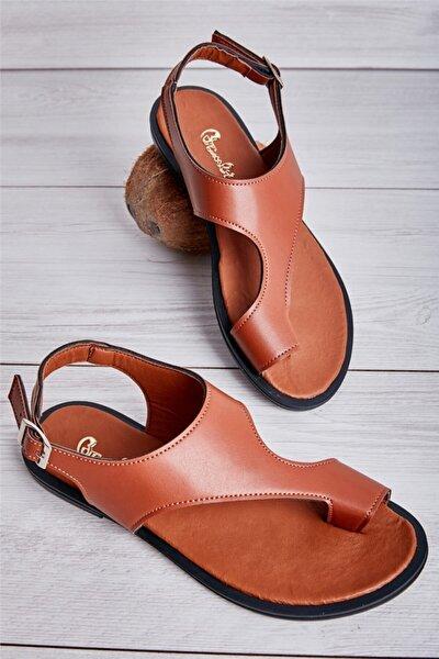 Kahverengi Kadın Sandalet L08351210