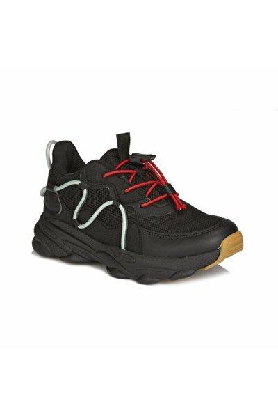 Unisex Çocuk Siyah 20k.160 Baxi Sneaker Günlük Spor Ayakkabı Sneaker