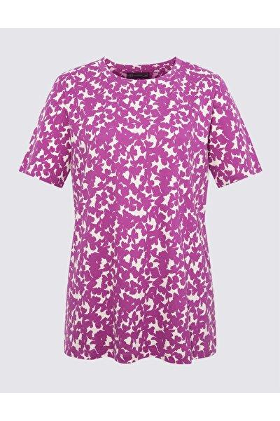 Kısa Kollu Straight Fit T-shirt