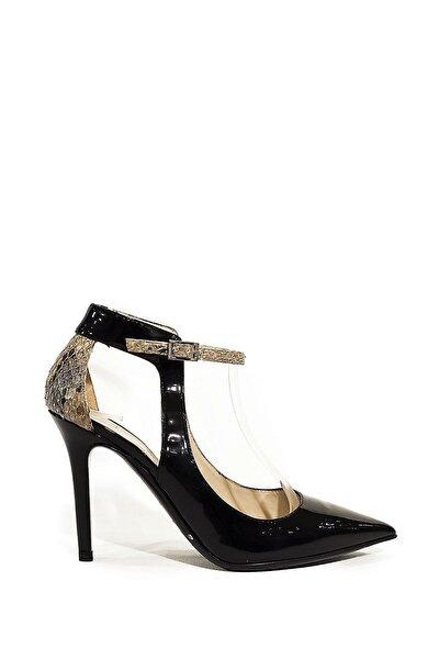 Hakiki Deri Klasik Topuklu Ayakkabı Nsc14y-42313