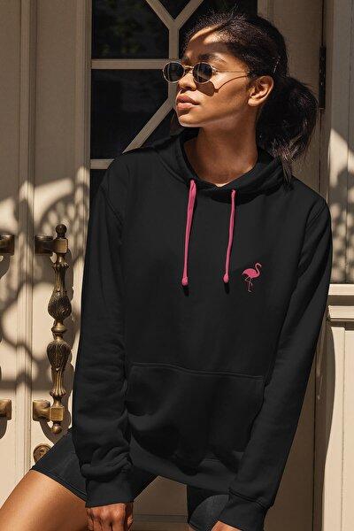 Kadın Onlyflamingo Sweatshirt Siyah