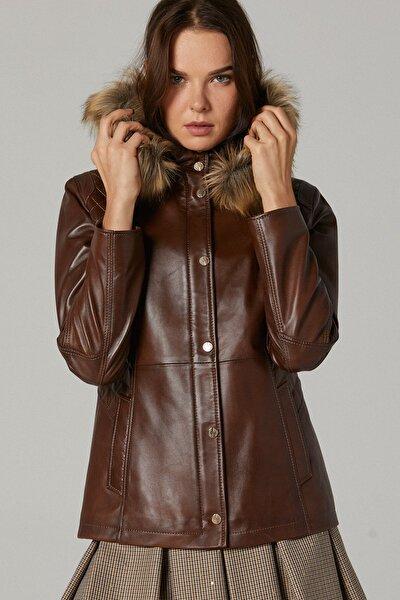 Caroline Kadın Deri Ceket