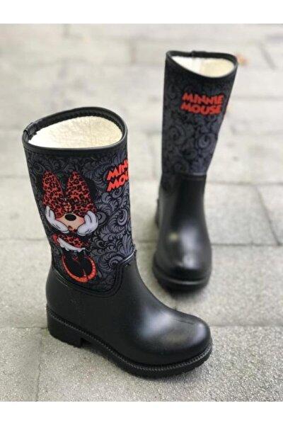 Minnie Mouse Çocuk Yağmur Çizmesi, Çocuk Yağmur Çizmesi