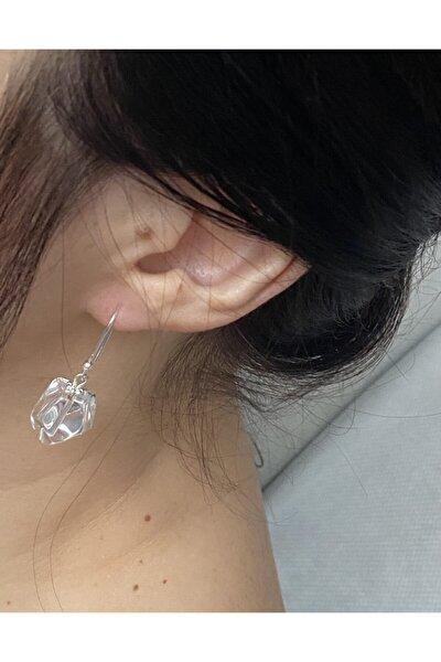 Gümüş&kristal Kuvarsküpe