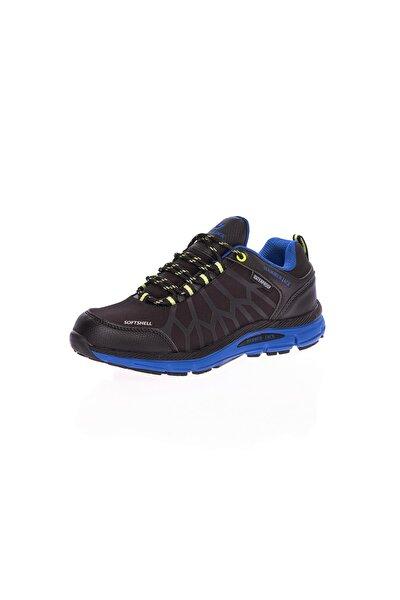 Siyah 3 Cm Waterproof Kadın Spor Ayakkabı