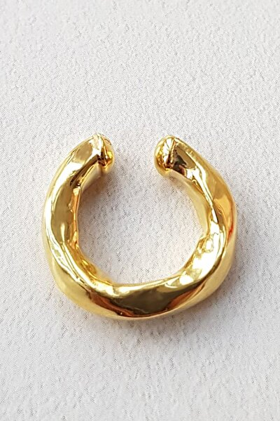 Italıan Altın Kaplama Gümüş Cuff
