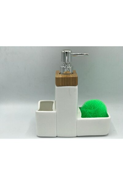 Bambu Sıvı Sabunluk Seti Tilda Tr-250