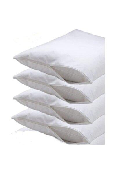 63 Tel 6 Adet Akfil 50x70 Yastık Içi Koruyucu Kılıf Fermuarlı Beyaz