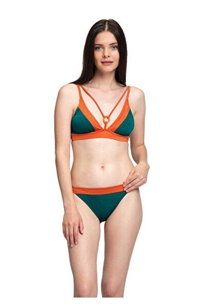 Yeşil Üçgen Bikini Takımı