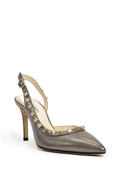 Hakiki Deri Klasik Topuklu Ayakkabı Flw19y-a8840
