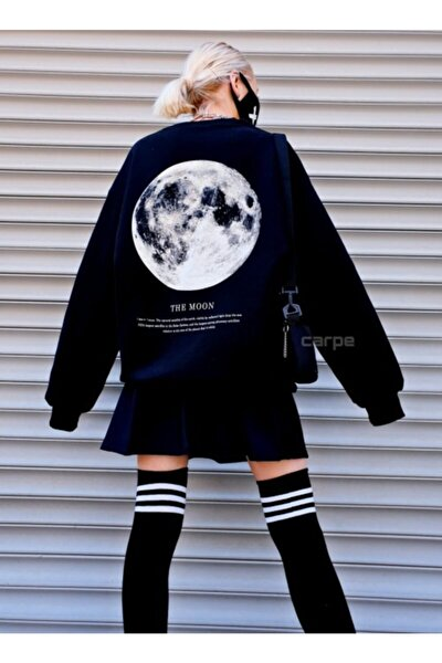 The Moon Oversize Sweatshirt