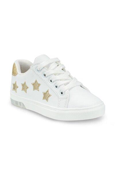 512510.p Beyaz Kız Çocuk Sneaker