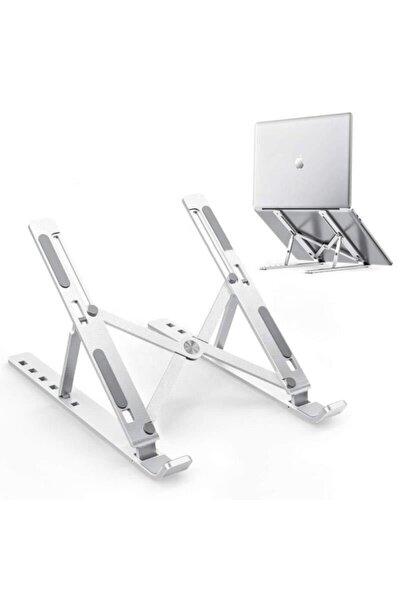 Katlanır Alüminyum Notebook Standı Ayarlı Laptop Macbook Notebook Yükseltici Tutucu Idock