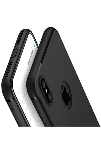 Apple Iphone X Ultra Ince Mat Tıpalı Silikon Kılıf