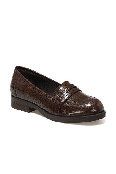 316057.Z Kahverengi Kadın Loafer Ayakkabı 100562528