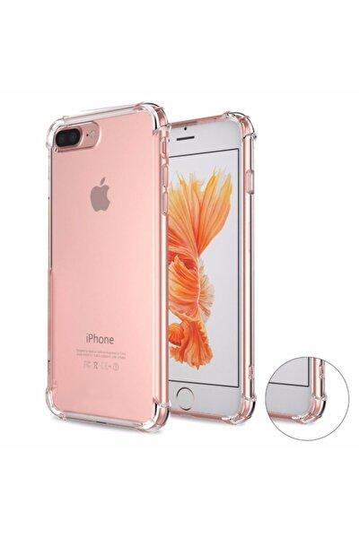Iphone 7 Plus Iphone 8 Plus Anti-drop Darbe Emici Silikon Kılıf - Şeffaf
