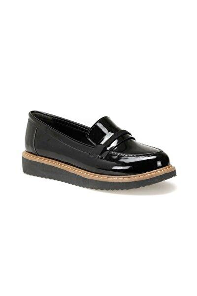 DW19081 Siyah Kadın Loafer Ayakkabı 100439749