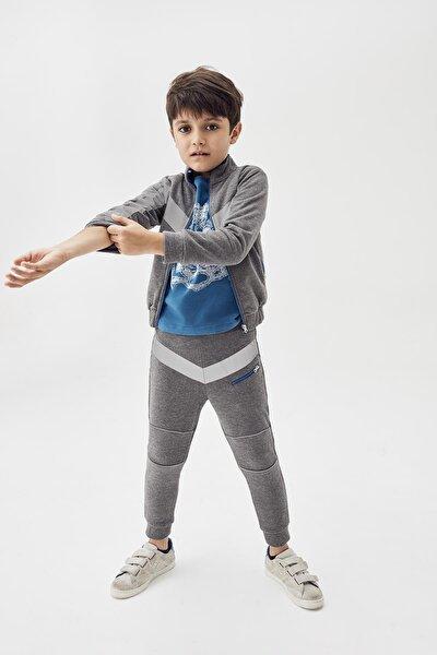 Erkek Çocuk Gri Melanj Eşofman Altı 20fw0nb3208