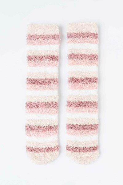 Çok Renkli Pinky 2li Soket Çorabı