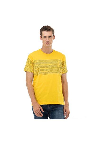 Erkek Standart Fit Sari T-Shirt V01016T