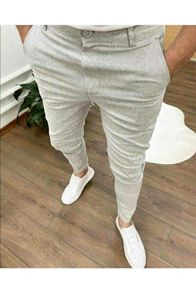 Modafe Erkek Likralı Keten Pantolon