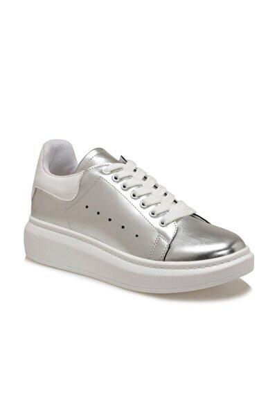 ADELİTAS Gümüş Kadın Havuz Taban Sneaker 100583024