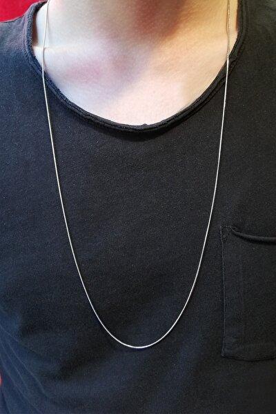 Ince Yılan Model Çelik Zincir 80 Cm
