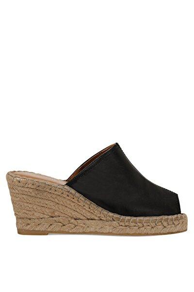 KAUFFMAN2 Siyah Kadın Dolgu Topuk Sandalet 100526113