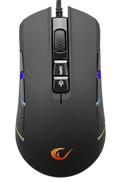 Smx-r600 Python Rgb 12400dpi Usb Siyah Optik Gaming Oyuncu Mouse