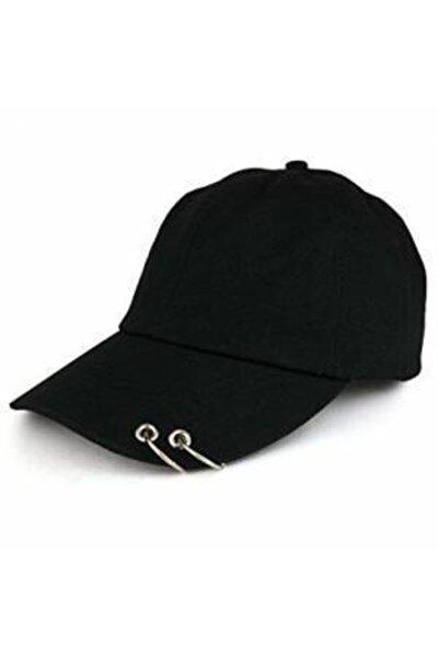 Kpop 2 Halkalı Pirsingli Şapka