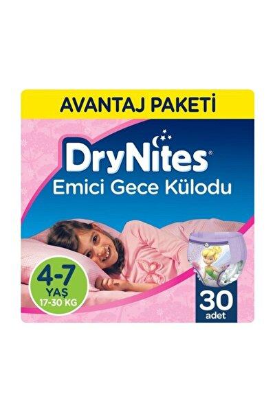 Kız Emici Gece Külodu 4-7 Yaş 30 Adet