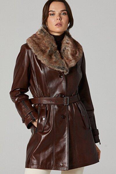 Rhoda Kadın Deri Ceket