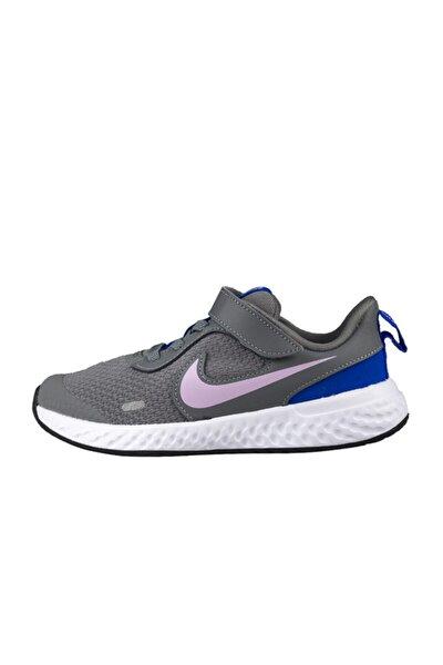 Unisex Çocuk Gri Revolutıon 5 Spor Ayakkabı