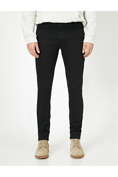 Erkek Jean Pantolon Siyah
