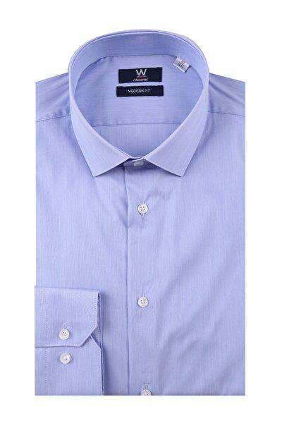 Mavi Klasik Gömlek