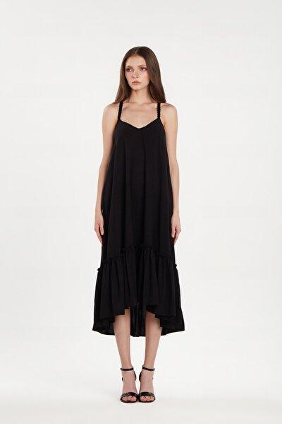 Kadın Amelie Siyah Renk Elbise 20y01