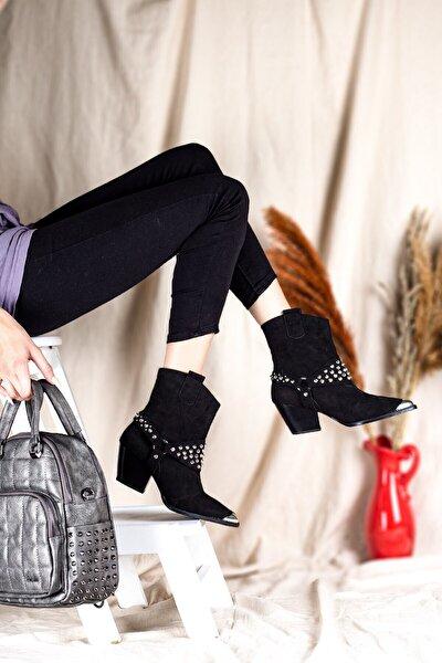 20k Rosa Kadın Günlük Çizme Siyah