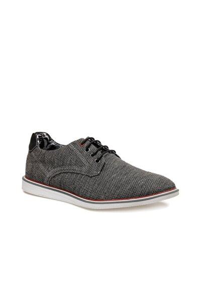 853-1 Siyah Erkek Klasik Ayakkabı