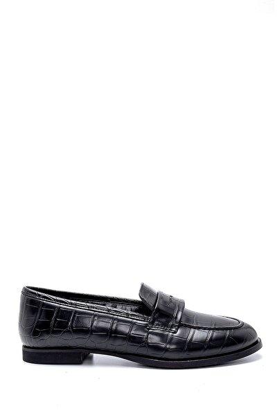 Kadın Kroko Desenli Ayakkabı