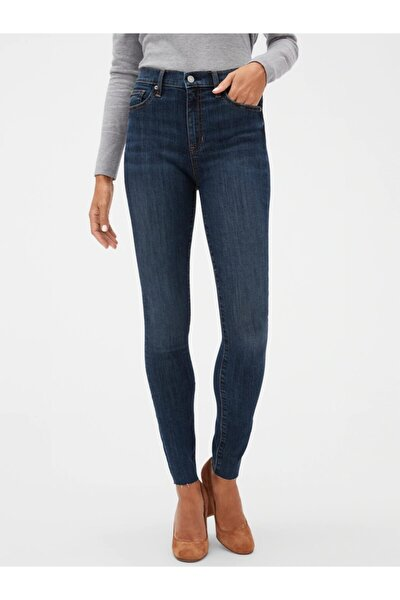 High Rise Legging Jean Pantolon