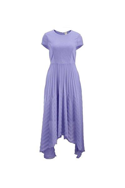 Kadın Leylak Elbise - Bga92168811