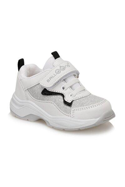 PONTU Beyaz Kız Çocuk Spor Ayakkabı 100570600