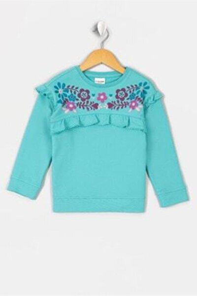 Yesil Kız Çocuk Sweatshirt